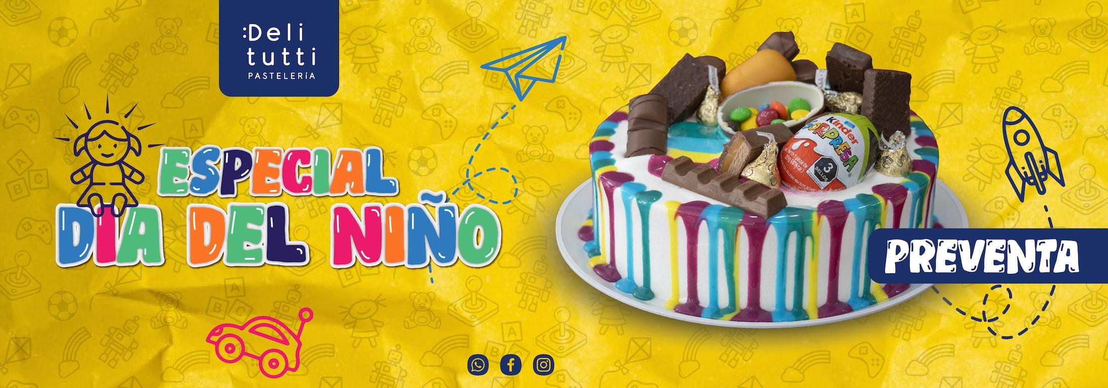 Pastel especial dia del niño 2021