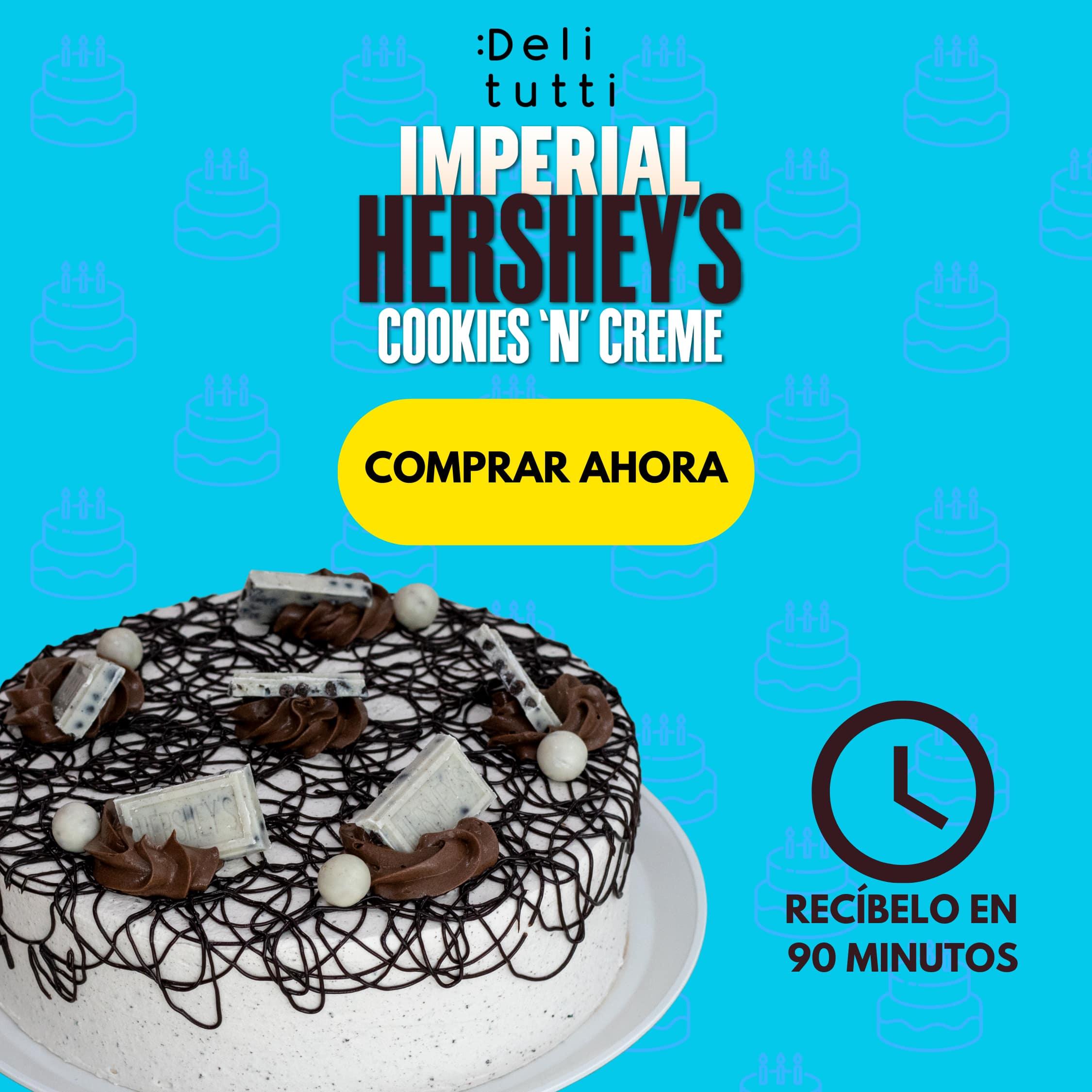 Pastel Imperial Hersheys Cookies N Creme